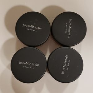 NWT bareMinerals SPF Foundation- Lot of 4